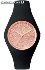 Reloj Ice Watch ice.gt.brg.s.s.15 Glitter Black Rose-Gold Mujer