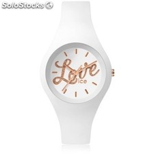 Reloj Ice Watch ice love Mujer Silicona Blanco
