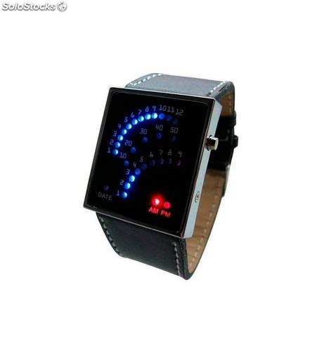 Reloj Led Diseño Racing con 29 Leds
