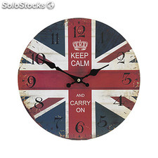 Reloj madera london - keep calm