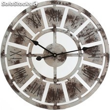 4cd3770fd Reloj de madera para colgar blanco - b and b - 8430026944101 - 59060