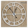 Reloj metal blanco by Homania