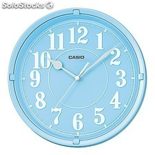 Reloj pared Casio IQ-62-2DF light blue