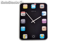 reloj pared cristal next time ipad-20x15 sb