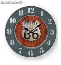 Reloj Pared Route 66