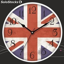 Reloj pared Sami RSP-97139 bandera UK