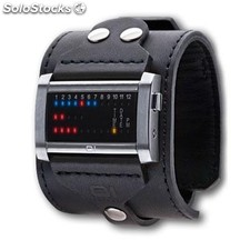 Reloj The One Ibiza Ride Hombre Binario Negro