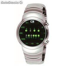 Reloj The One Samui Moon Hombre Binario Negro