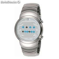 Reloj The One Samui Moon Hombre Binario Plateado