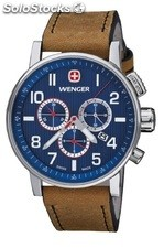 Reloj wenger Commando chrono 011243101(regalo camiseta )
