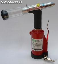 Remachadora Pop Hidroneumatica / Air hydraulic riveter
