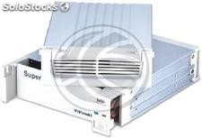 Removable HDD aluminum 3.5 SATA2 beige with fan (AR45)