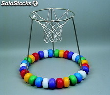 removable stainless steel floating basketball