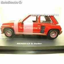 Renault 5 turbo red escala 1/18 universal hobbies