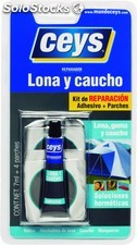 Reparador Lona Caucho 7ml.+Parches 505004 Ceys