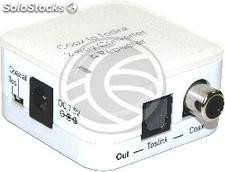 Repeater converter and digital audio (TosLink Coaxial) (VD40-0002)