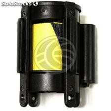 Replacement cassette tape 5m retractable black yellow (BB39)