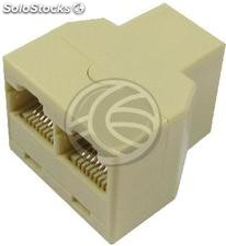 Replicator 1 RJ45 Female to 2 RJ45 Female (RC20)