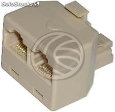 Replicator 1 RJ45 male to 2 female RJ45 (RC21)