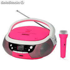 Reproductor CD/DVD MP3 , usb radio am/FM , karaoke DBU59