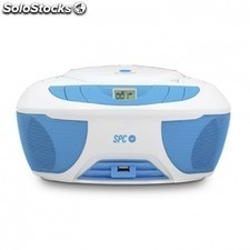 Reproductor cd SPC internet boombox - USB - MP3 -radio - jack 3.5mm -