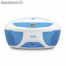 Reproductor cd spc internet boombox - usb - mp3 -radio - jack 3.5mm