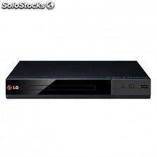 Reproductor DVD LG dp132 DVD divx dolby digital USB player euroconector negro