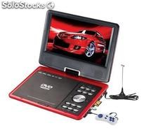 Reproductor Dvd Portatil 9¨ Tv Usb Sd Juegos y funcion copia