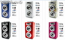 Reproductor JoyBox Bluetooth, FM, sd, usb