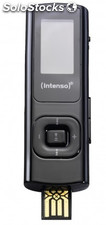 Reproductor MP3 8 GB Intenso music twister negro