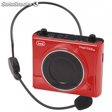 Reproductor mp3 con amplificador de