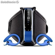 Reproductor MP3 Energy Sistem active 2 neon blue (8GB, radio FM, auriculares