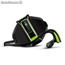 Reproductor MP3 Energy Sistem Running Neon Green 8 GB Podometro FM