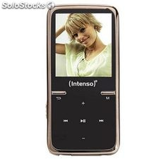 Reproductor MP3 Intenso MP3 8GB intenso video scooter negro + auricular