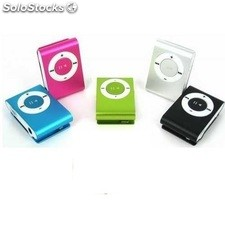 Reproductor Mp3 mini con pinza