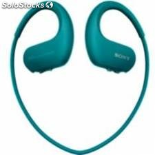 Reproductor mp3 sony nwws413l acuatico 4gb / azul