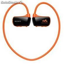 Reproductor mp3 sony nwzw273sd acuatico 4gb naranja