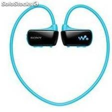 Reproductor mp3 sony nwzw273sl acuatico 4gb azul