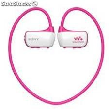Reproductor mp3 sony nwzw273sp acuatico 4gb rosa
