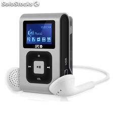 Reproductor MP3 spc internet Sport Clip Extreme Plata