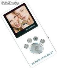 Reproductor MP3 Super Talent MEGA Screen 2GB Blanco