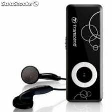 Reproductor mp3 transcend 8gb t.sonic 300/ negro
