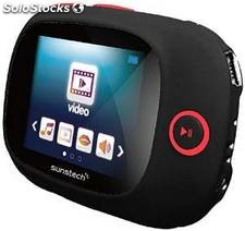 Reproductor MP4 4 GB Sunstech SportyII Negro