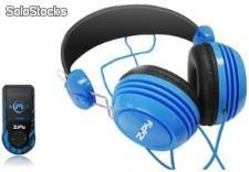 REPRODUCTOR MP4 + AURICULARES ZIPY IGUANA HIGH END PACK BLUE 4GB 1,8 FM RADIO