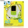 Reproductor MP4 Bob Esponja + Auriculares + Micro sd 4Gb