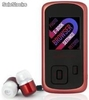 Reproductor MP4 Energy Sistem 2204 Ruby red 4gb