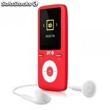 "Reproductor MP4 SPC pure sound colour 2 8484r - 4gb - 1.8""/4.57cm - fm - fotos"