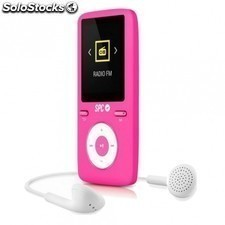 "Reproductor MP4 SPC pure sound colour 2 8488p - 8gb - 1.8""/4.57cm - fm - fotos"