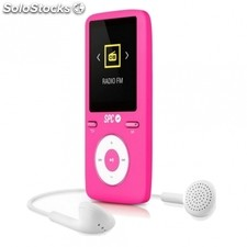 "Reproductor MP4 spc pure sound colour 2 8488P - 8GB - 1.8""/4.57CM - FM - fotos -"