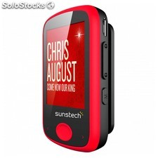 "Reproductor MP4 Sunstech IBIZA8GBRD 8 GB 1,8"" radio FM micro sd usb 2.0 Rojo"